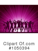 Silhouetted Dancers Clipart #1050394 by KJ Pargeter