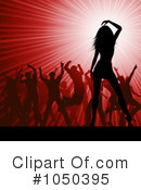 Silhouetted Dancers Clipart #1050395 by KJ Pargeter