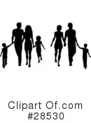 Silhouetted People Clipart #28530 by KJ Pargeter