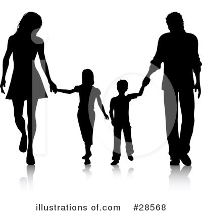 Family Clipart #28568 by KJ Pargeter