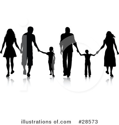 Family Clipart #28573 by KJ Pargeter
