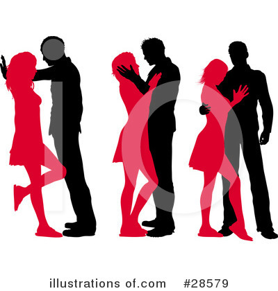 Couple Clipart #28579 by KJ Pargeter