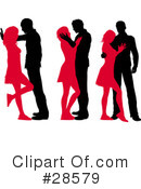 Silhouetted People Clipart #28579 by KJ Pargeter