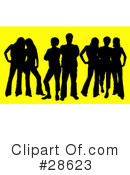 Silhouetted People Clipart #28623 by KJ Pargeter