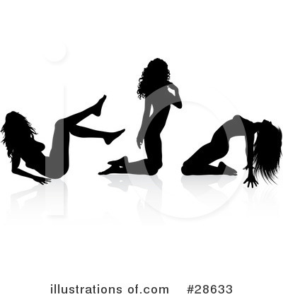 Sexy Woman Clipart #28633 by KJ Pargeter
