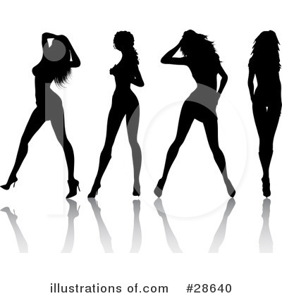 Sexy Woman Clipart #28640 by KJ Pargeter