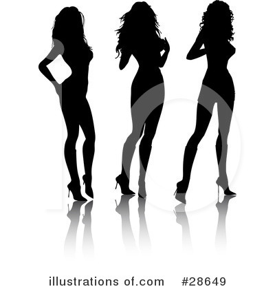 Sexy Woman Clipart #28649 by KJ Pargeter