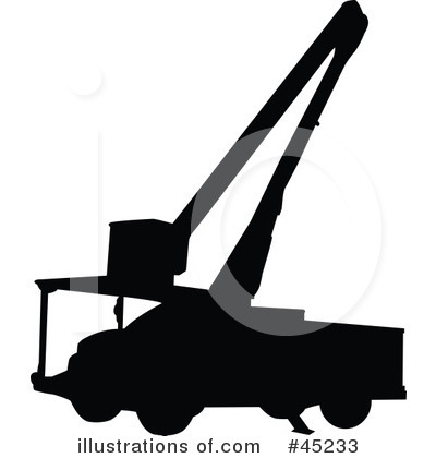 Utility Truck Clipart #45233 by JR