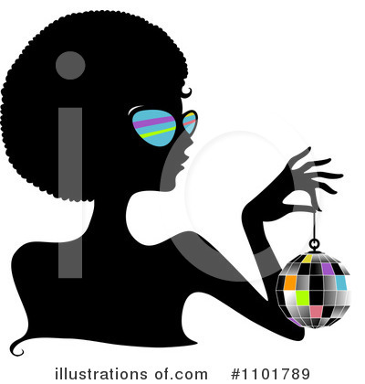 Afro Clipart #1101789 by BNP Design Studio