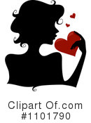 Royalty-Free (RF) Silhouetted Woman Clipart Illustration #1101790