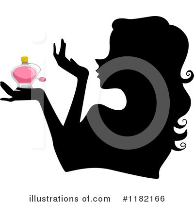 Royalty-Free (RF) Silhouetted Woman Clipart Illustration by BNP Design Studio - Stock Sample #1182166