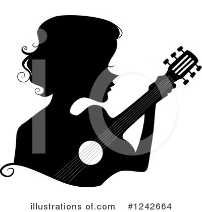 Guitarist Clipart #1242664 by BNP Design Studio