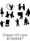 Silhouettes Clipart #1069457 by Vector Tradition SM