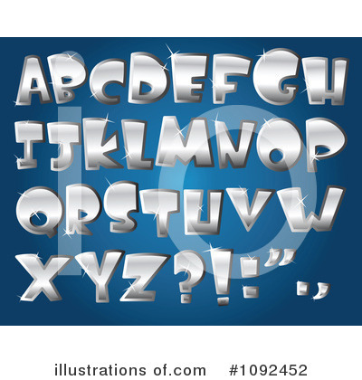 Letters Clipart #1092452 by yayayoyo