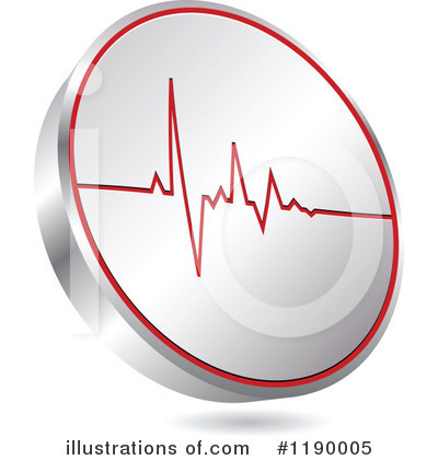 Heartbeat Clipart #1190005 by Andrei Marincas