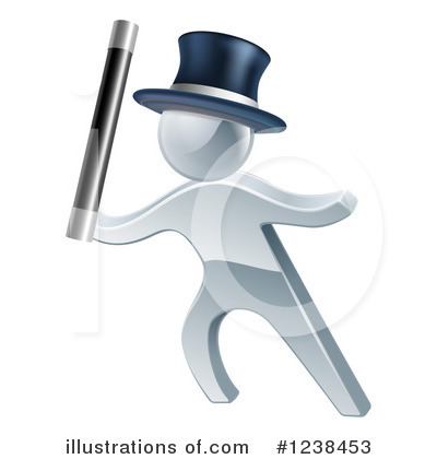 Magician Clipart #1238453 by AtStockIllustration