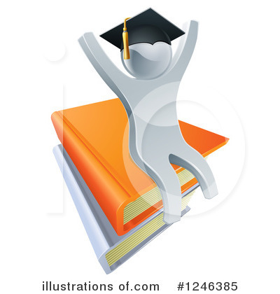 Book Clipart #1246385 by AtStockIllustration