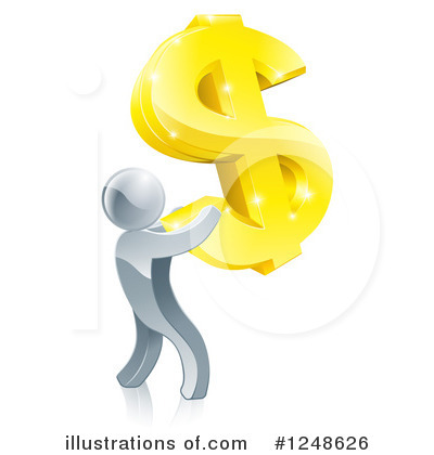 Dollar Symbol Clipart #1248626 by AtStockIllustration