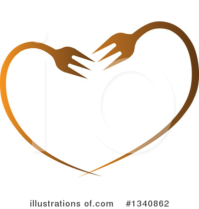 Heart Clipart #1340862 by ColorMagic