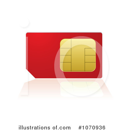 Sim Card Clipart #1070936 by michaeltravers