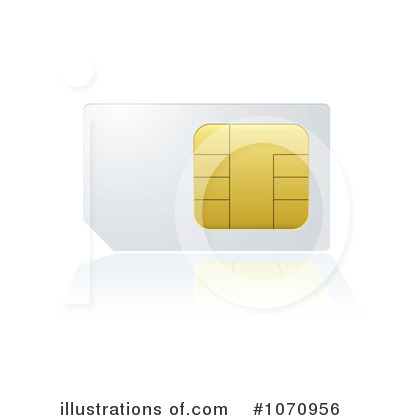 Sim Card Clipart #1070956 by michaeltravers