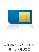 Sim Card Clipart #1074358 by michaeltravers