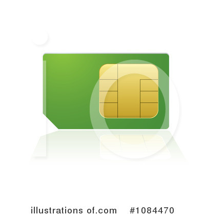 Sim Card Clipart #1084470 by michaeltravers