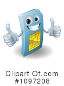 Sim Card Clipart #1097208 by AtStockIllustration