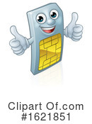 Sim Card Clipart #1621851 by AtStockIllustration