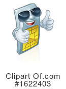Sim Card Clipart #1622403 by AtStockIllustration