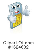 Sim Card Clipart #1624632 by AtStockIllustration
