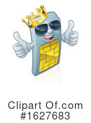 Sim Card Clipart #1627683 by AtStockIllustration