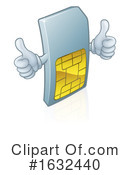 Sim Card Clipart #1632440 by AtStockIllustration