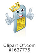 Sim Card Clipart #1637775 by AtStockIllustration