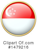 Singapore Flag Clipart #1479216 by Graphics RF