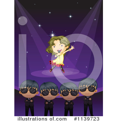 Concert Clipart #1139723 by Graphics RF