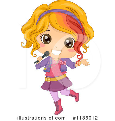 Singer Clipart #1186012 by BNP Design Studio