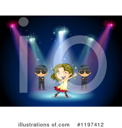 Concert Clipart #1197412 by Graphics RF