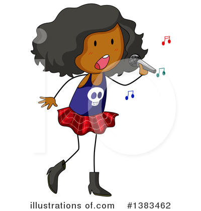 Singing Clipart #1383462 by Graphics RF