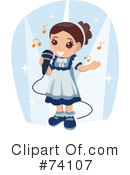 Singing Clipart #74107