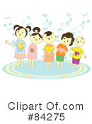 Singing Clipart #84275