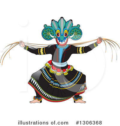 Dancing Clipart #1306368 by Lal Perera
