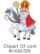 Royalty-Free (RF) Sinterklaas Clipart Illustration #1490725