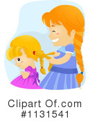 Sisters Clipart #1131541 by BNP Design Studio