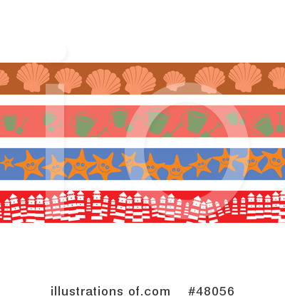 Royalty-Free (RF) Site Border Clipart Illustration by Prawny - Stock Sample #48056