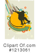 Royalty-Free (RF) Skateboarding Clipart Illustration #1213061