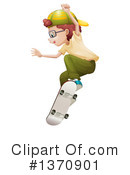 Skateboarding Clipart #1370901 by Graphics RF