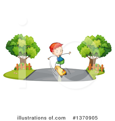 Road Clipart #1370905 by Graphics RF