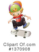 Skateboarding Clipart #1370908 by Graphics RF