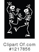 Skeleton Clipart #1217856 by Zooco